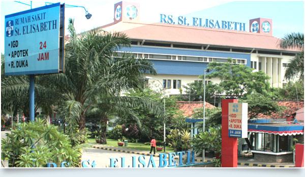 gedung rs st.elisabeth bekasi